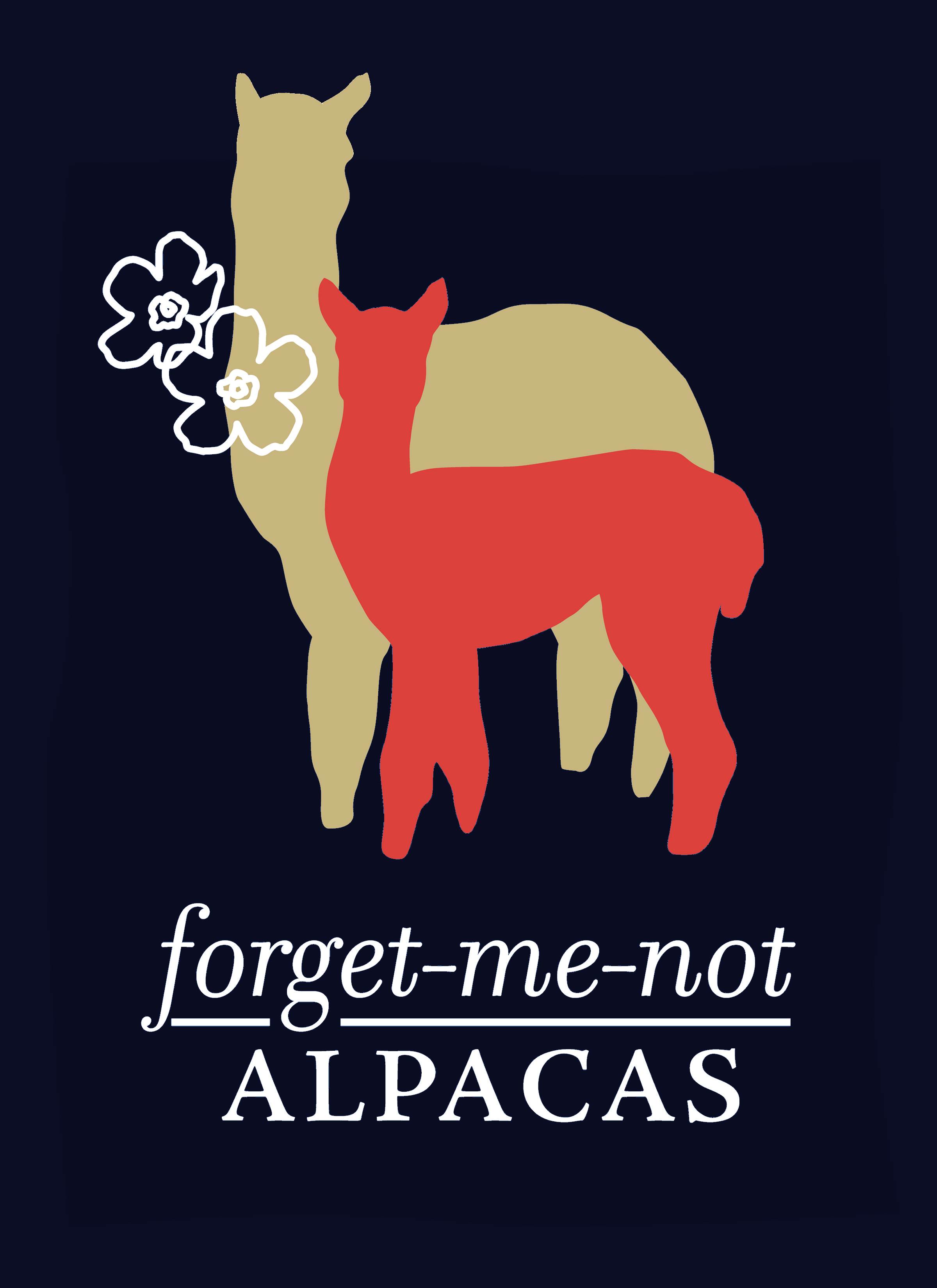 Forget-Me-Not Alpacas logo