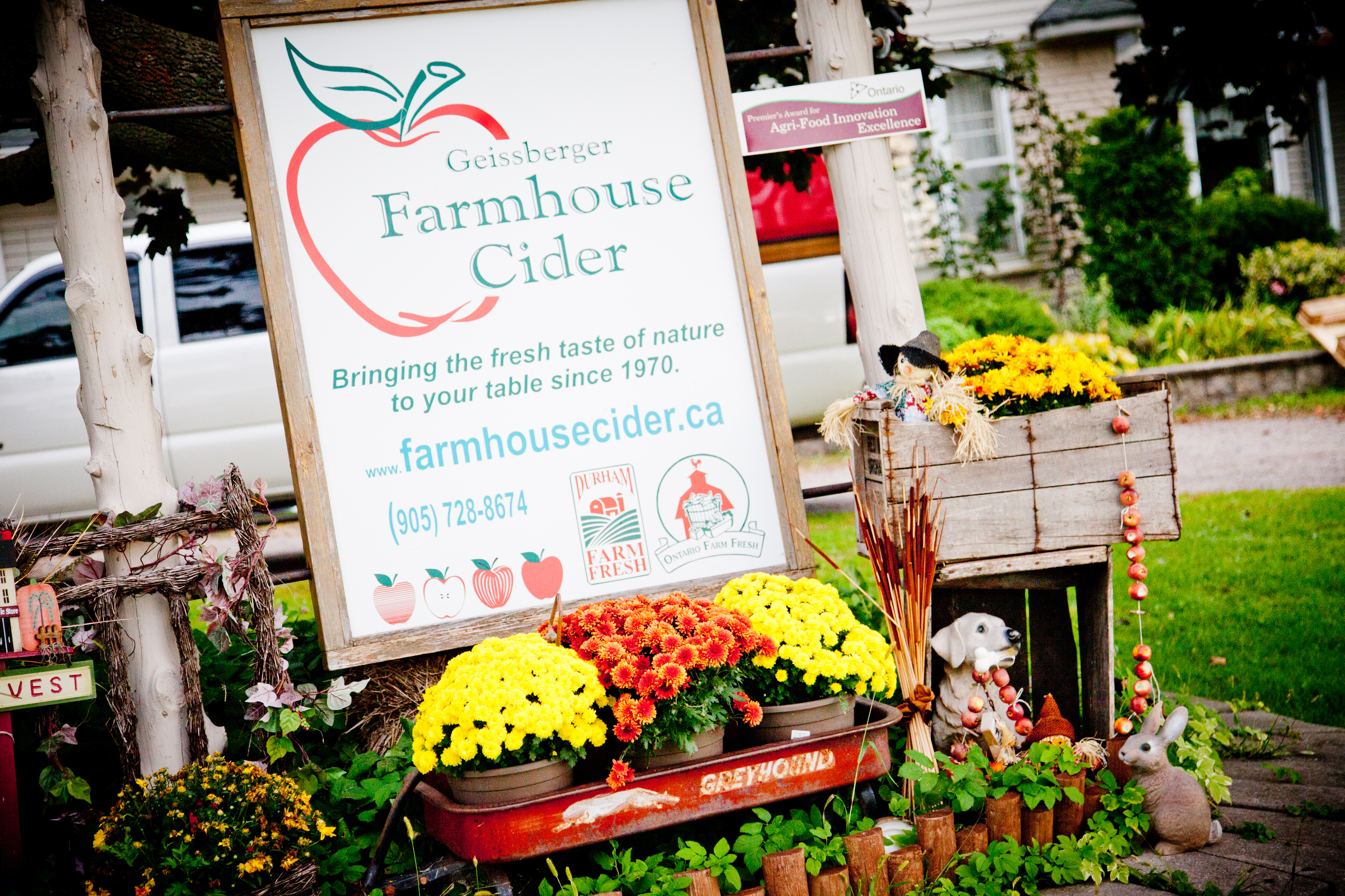 Full size lightbox of Geissberger Farmhouse Cider image 0